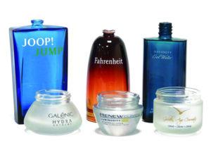 custom glass packaging
