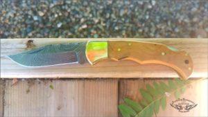 Custom Damascus Folding knives