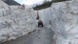 Naran Road Snow